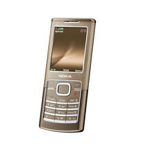 NOKIA Classic 6500c Bronze Orange UK. 3G ENABLED. CLASSIC Grade B