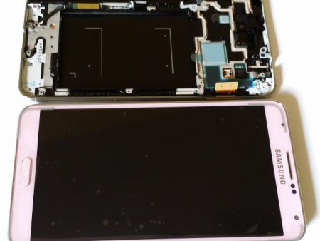 Samsung N9005 Galaxy Note 3 Lcd Touch Screen Display Complete Original Genuine Blush Pink