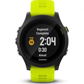 Garmin Forerunner 935 GPS Running Watch with built-in Heart Rate Monitors - Yellow (010-01746-21) (Support EU languages)