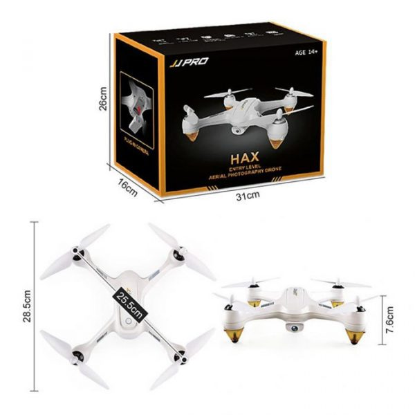 JJRC JJPRO X3 WiFi FPV 1080P Camera Drone RC Quadcopter with GPS