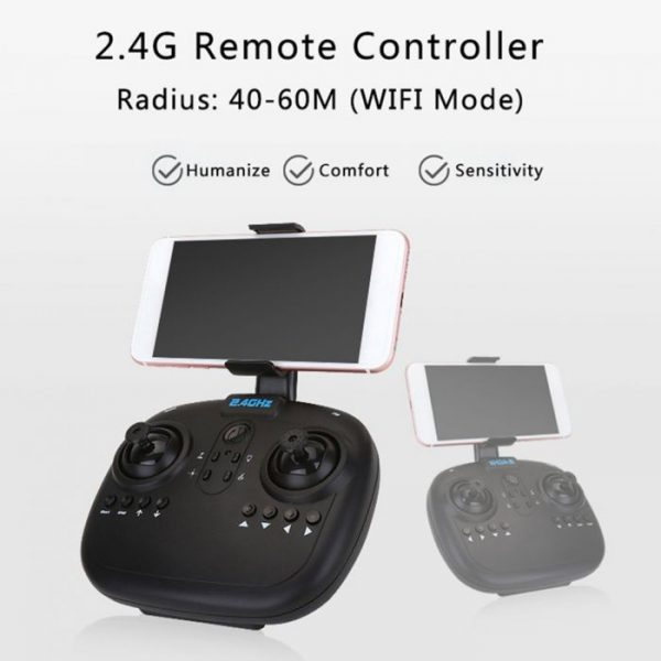 A6W Wifi FPV Drone Foldable R/C Quadcopter with 0.3MP Camera